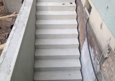 Kellertreppe Rohbau